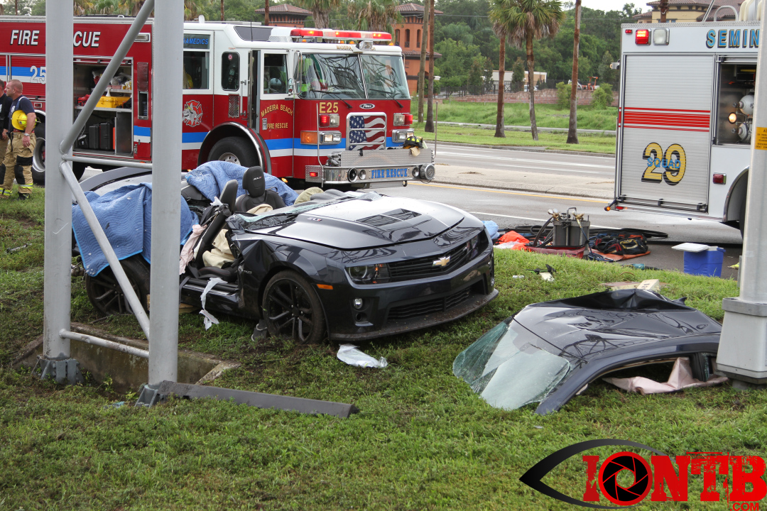 Seminole crash with serious injuries on Bay Pines Boulevard