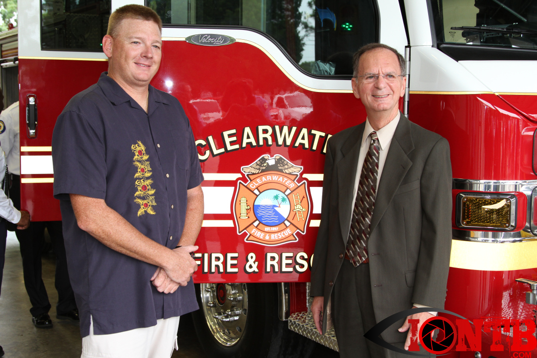 Clearwater FD: Engine 50 Dedication Ceremony