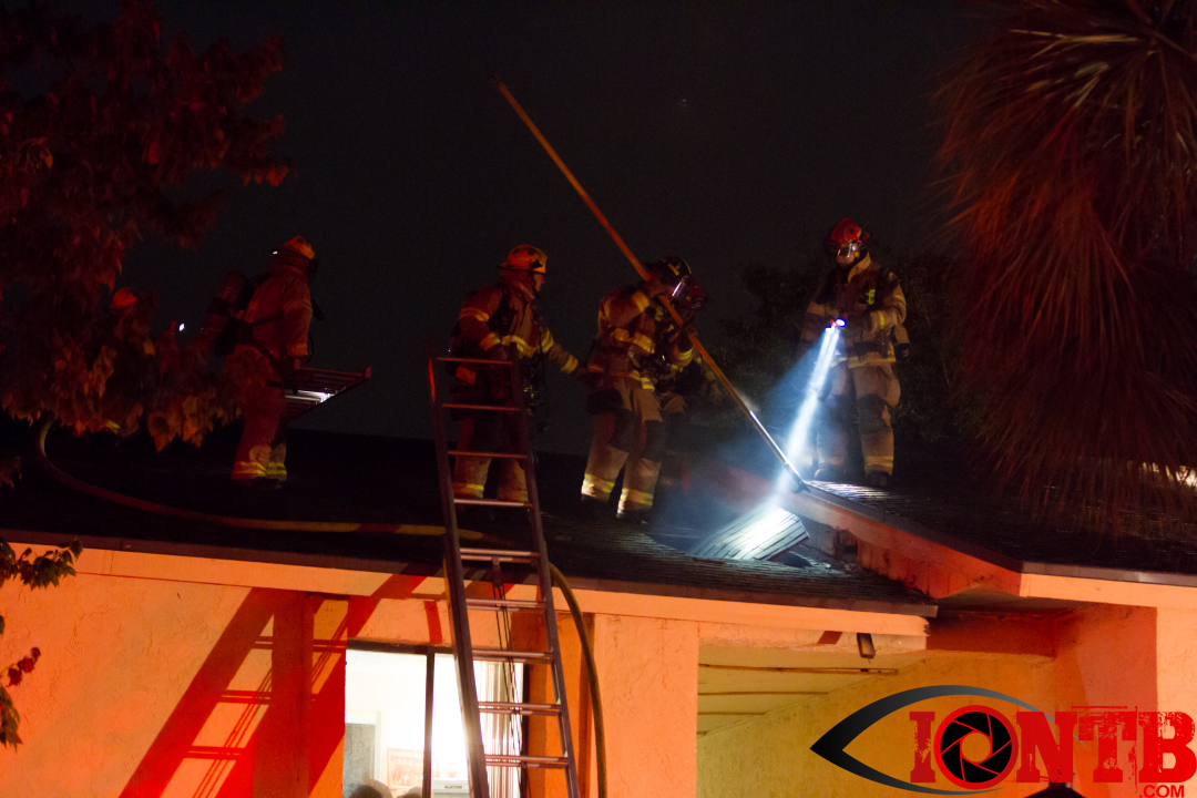 Structure Fire at Laguna Vista Apartments in Largo