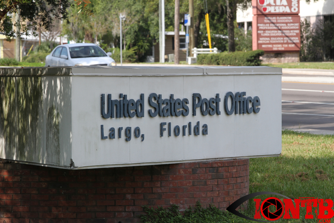 Hazardous Materials Response Team at US Post Office in Largo