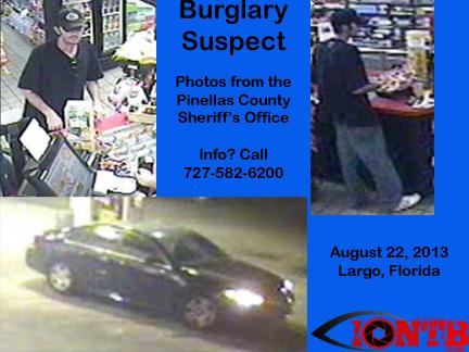 Help needed to identify Largo burglary suspect