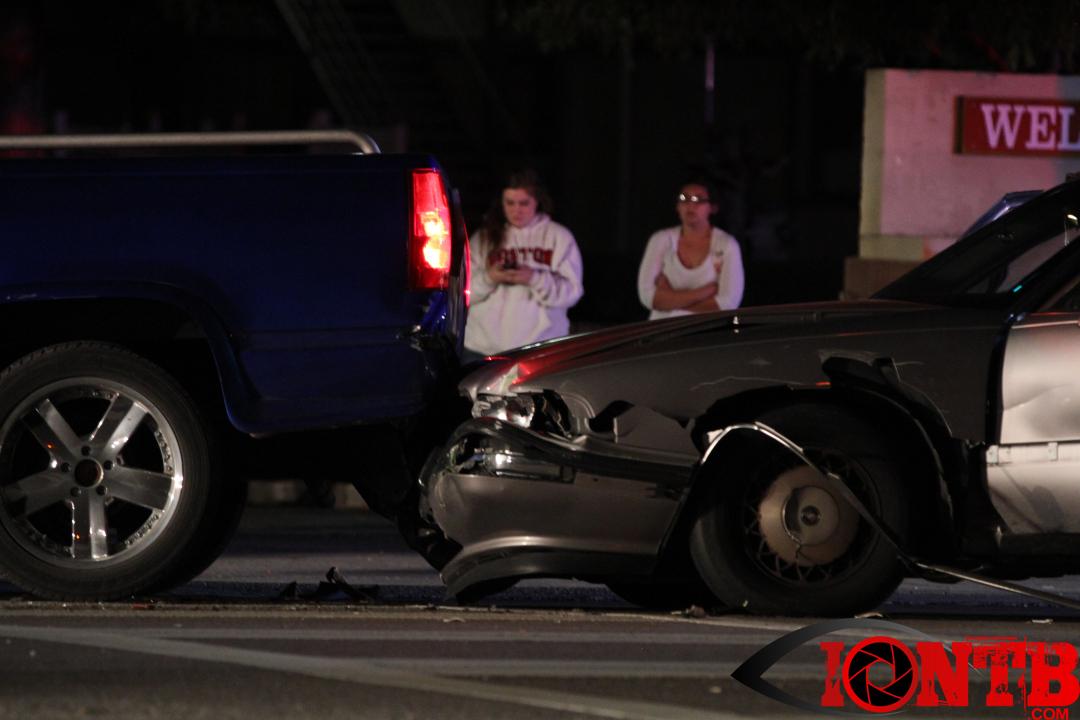 Traffic crash on Starkey Road at Flamevine Avenue