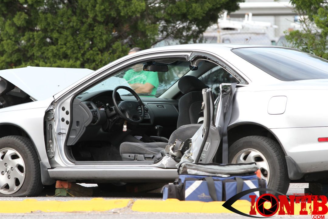 Largo Fire Rescue assists at crash on Ulmerton Rd at Madison Avenue