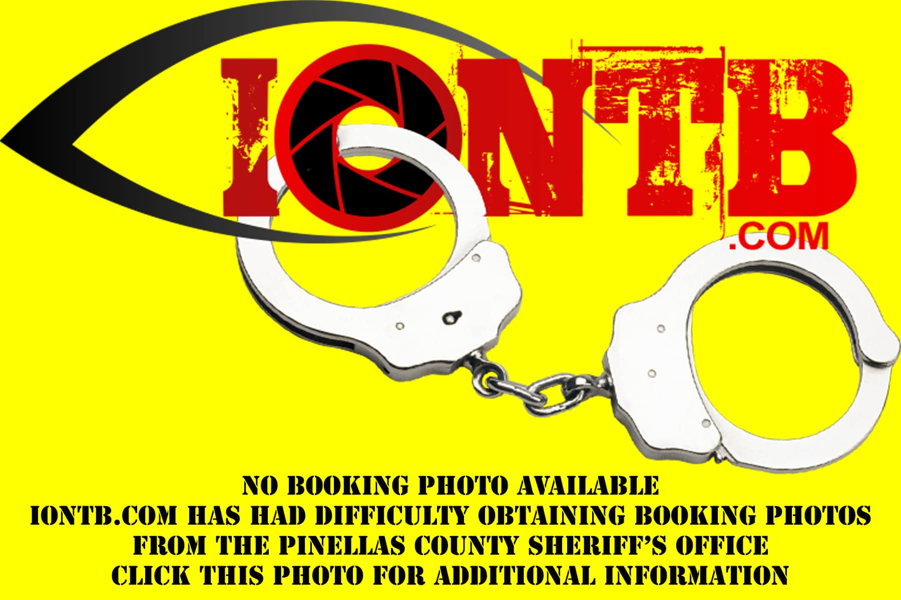 Booking photo not available to IONTB. Click for additional information.
