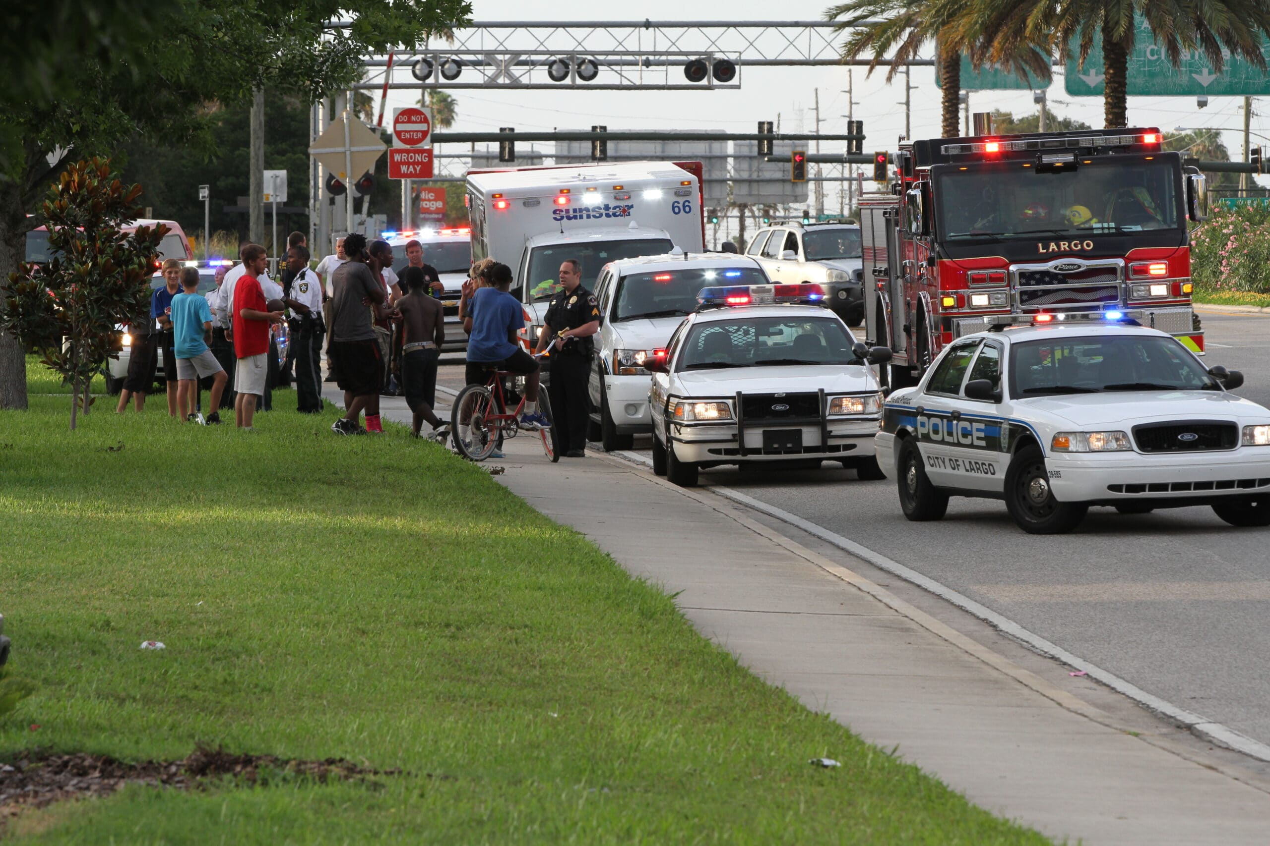 Shooting at the Bayhead Recreation Complex in Largo