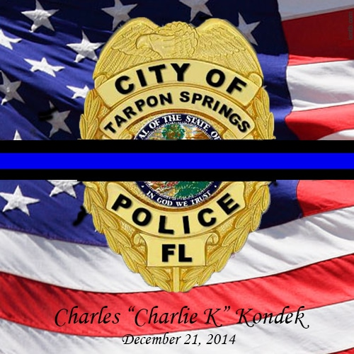 Tarpon Springs Police Officer Killed In The Line Of Duty