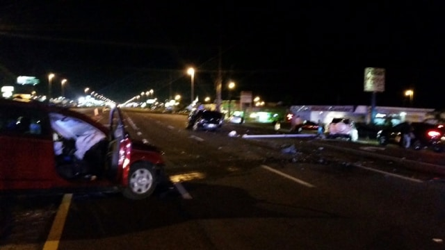 Four Injured in Wrong-way Crash on US-19 in Pasco County - IONTB