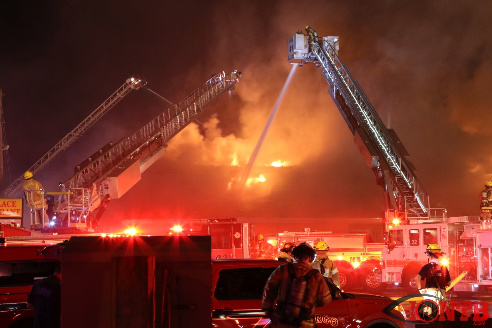 Largo Fire Consumes Multiple Businesses Overnight