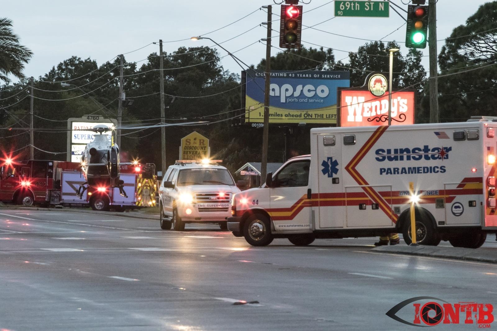 18-Wheeler Collides with SUV in Largo; 2 Injured