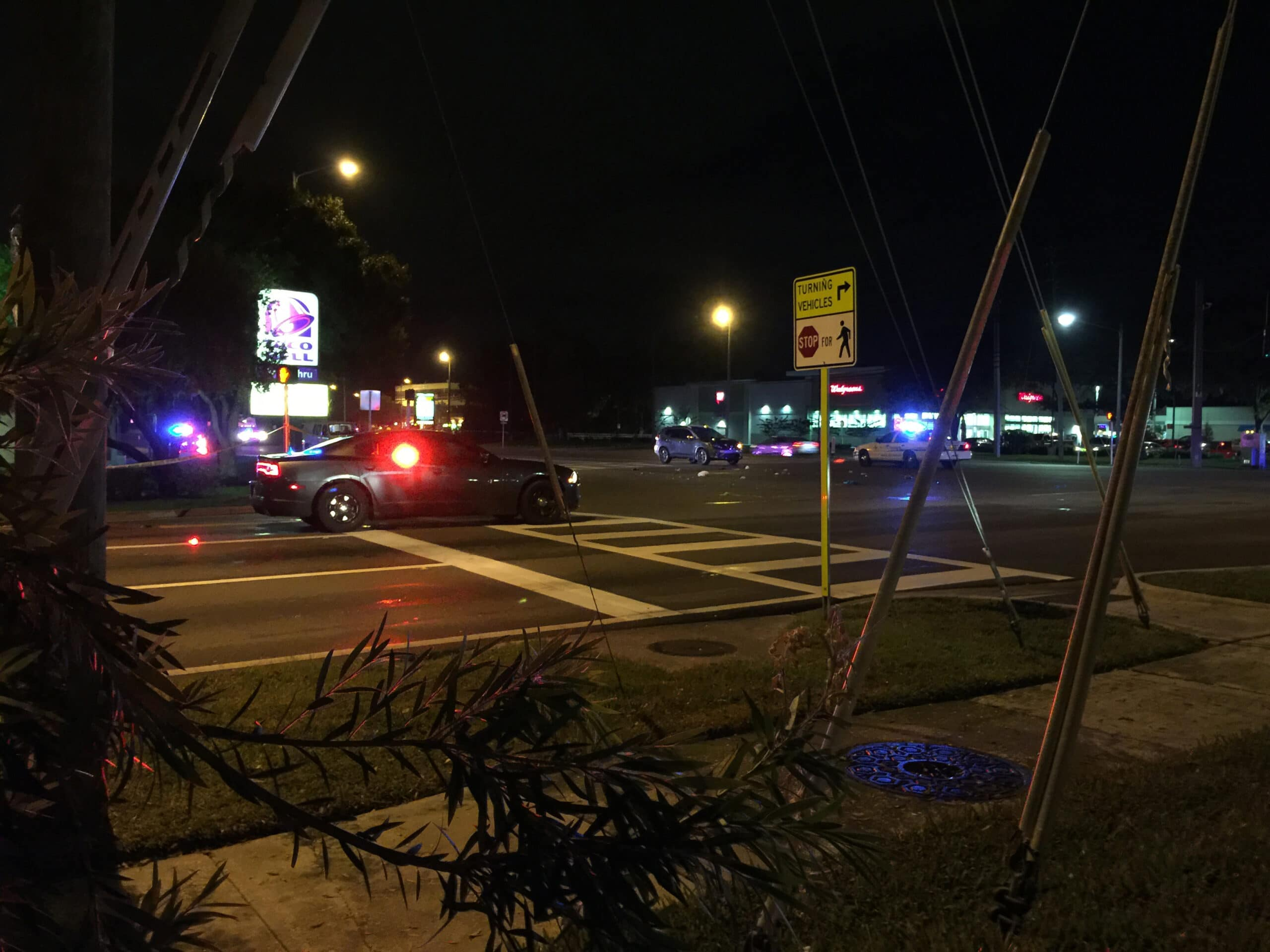 Pedestrian Critically Injured Crossing McMullen Booth Road
