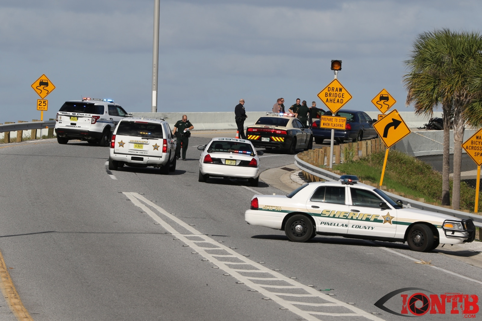 Motorcyclist Dead After Getting Ejected Off Park Boulevard Bridge
