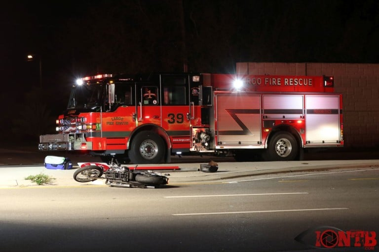 Motorcycle Crash Leaves Two Injured On Ulmerton Road Sunday Night