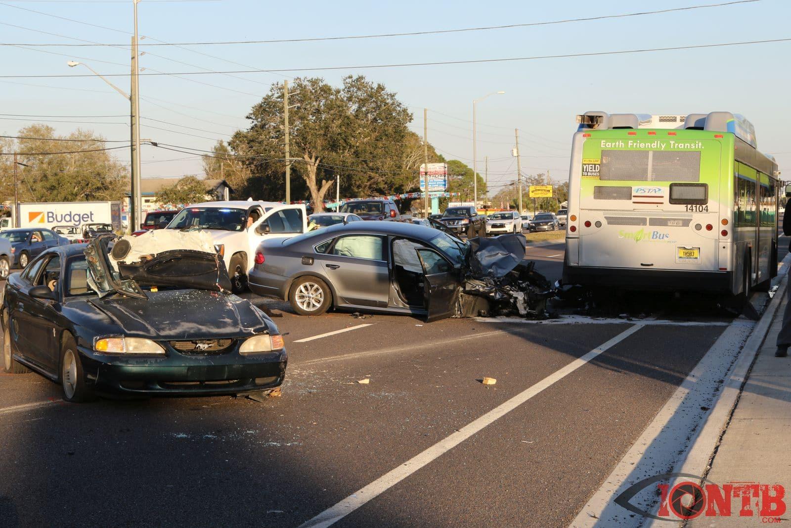 St Petersburg Florida Car Accident February