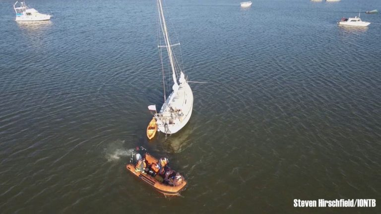 Drone Operation Helps Expedite the Evacuation of an Injured Women from a Sailboat in Bay Pines, Florida