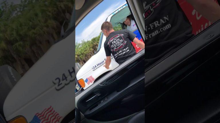 Man Arrested After Road Rage Incident Captured on Video