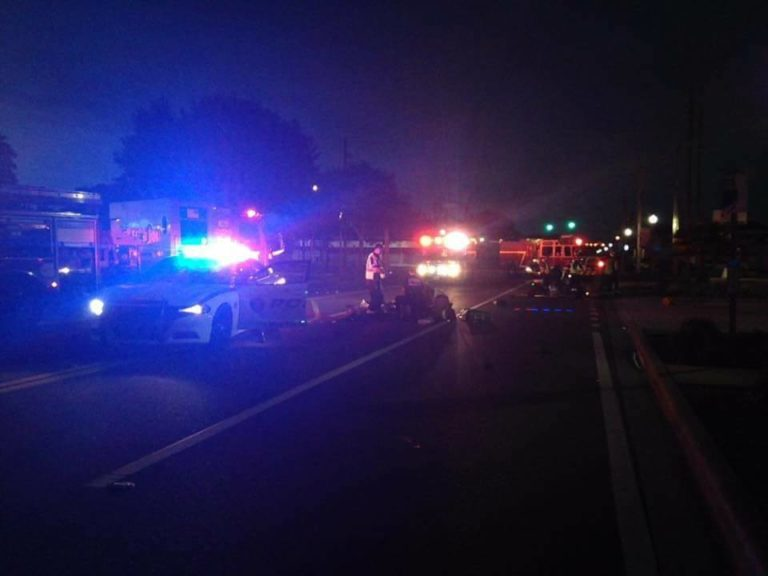 Motorcyclist Collides with Bicyclist in Gulfport Early Sunday Morning