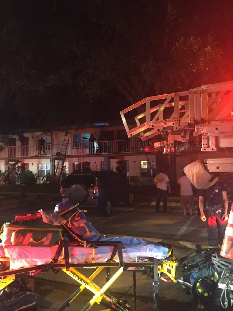 Woman Critically Injured in St. Petersburg Apartment Fire