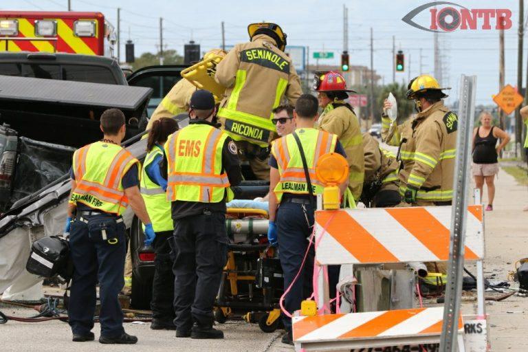 Serious Injuries in Park Blvd Crash