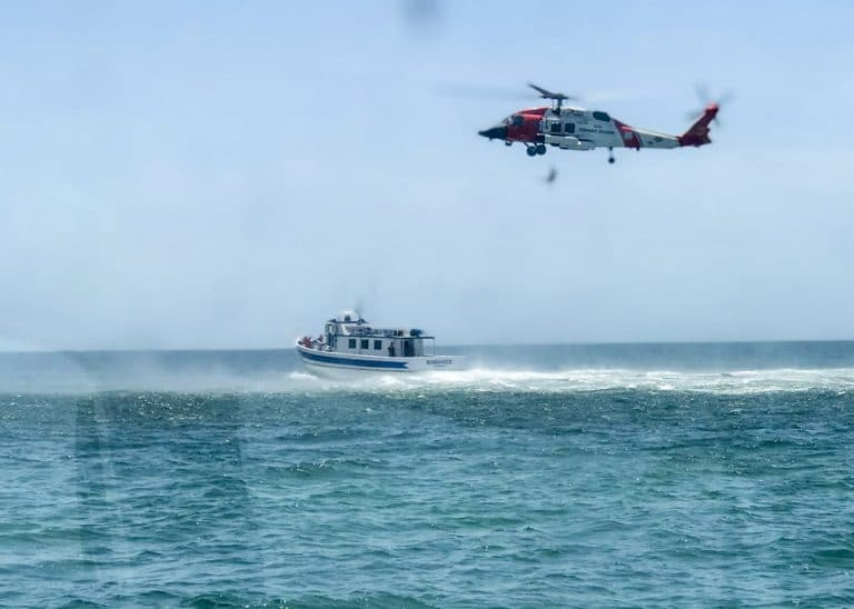 Coast Guard assists, partner agency medevacs 83-year-old man 6 miles west of  Anclote River