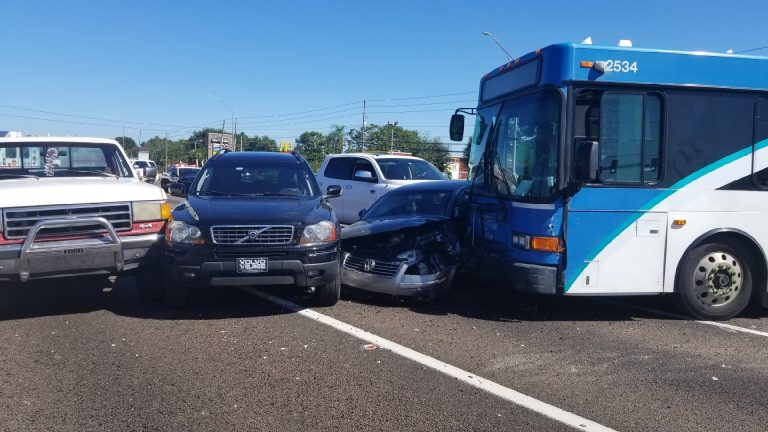 PSTA Bus Driver Remains in Critical Condition Following a Crash Involving Nine Vehicles