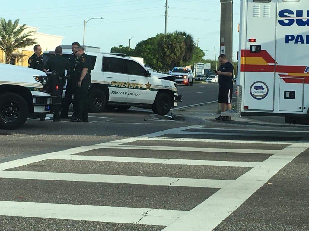 Pinellas Deputy Injured Following Rollover Crash - IONTB