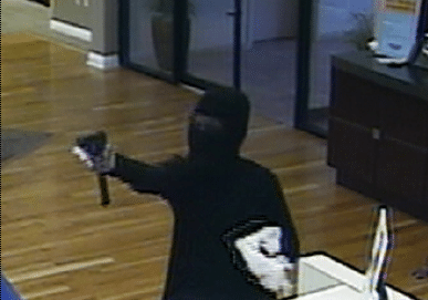 Suspect Sought in Armed Robbery at the Republic Bank in St. Petersburg