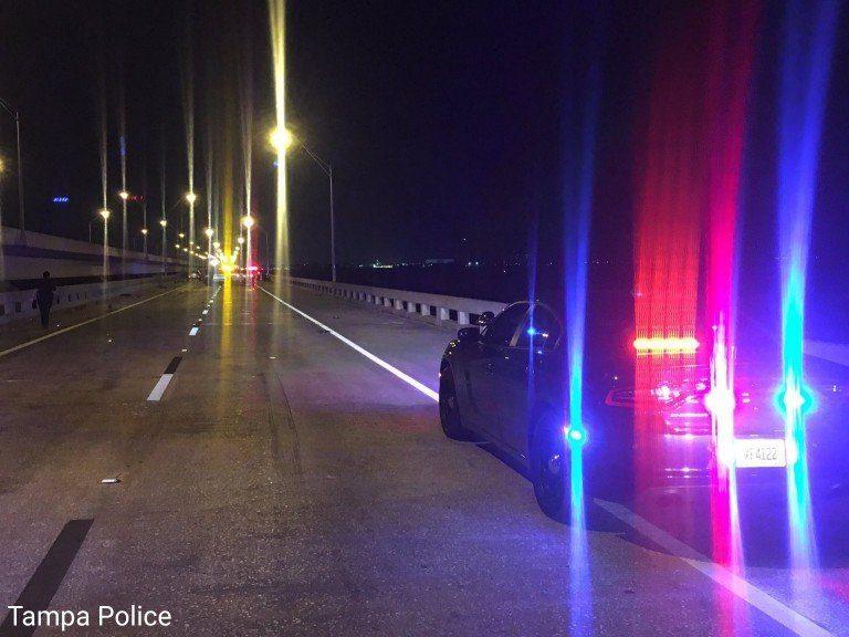 Tampa Police Investigating Fatality Crash Involving a Motorcyclist on Gandy Bridge