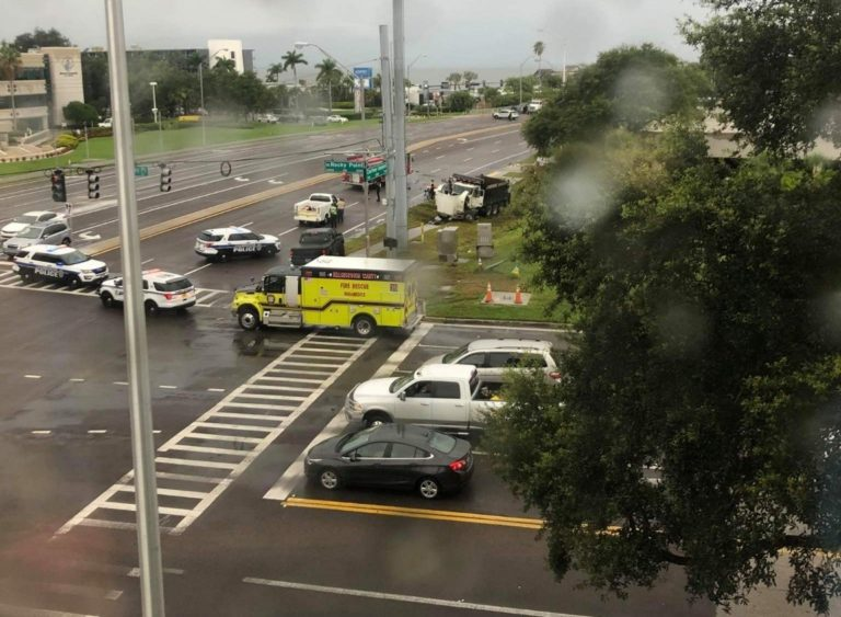 Courtney Campbell Causeway Closed in Both Directions After Fatal Crash Involving a Dump Truck in Hillsborough