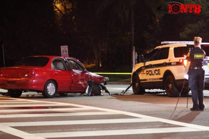 Crash involving SPPD officer