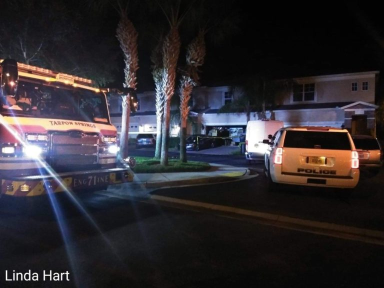Man in Tarpon Springs Dies After Found Ablaze in a Townhouse Driveway