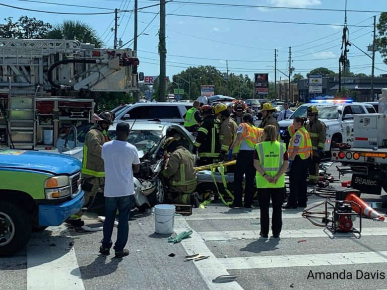 Multiple Injuries Following Crash at Belcher Road and Park Blvd