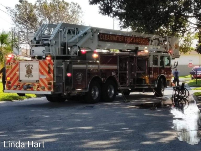 Three Residents of Clearwater ALF Hospitalized for Smoke Inhalation Following Small Kitchen Fire, Caretaker Arrested