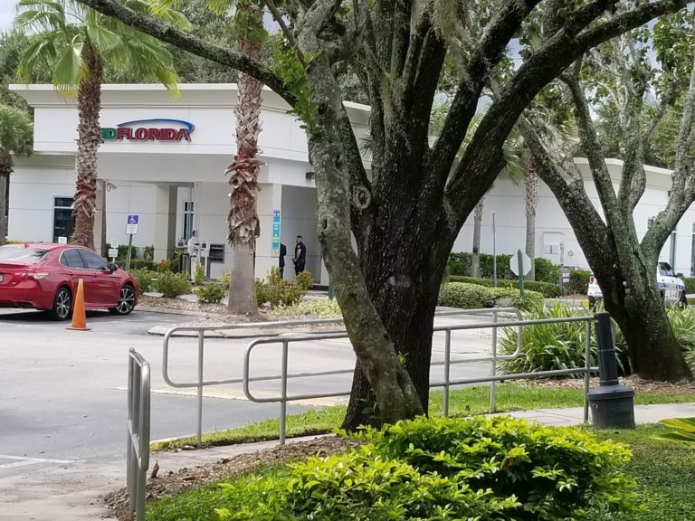 Bank Robbery at the MidFlorida Credit Union in Clearwater