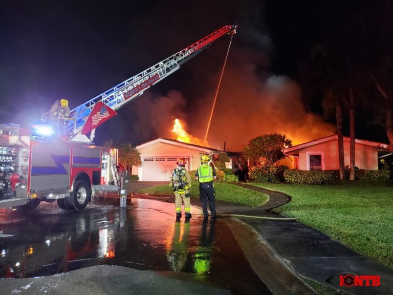 Home destroyed following overnight structure fire in Seminole