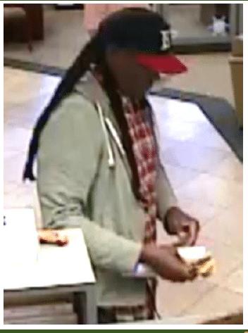 Pinellas deputies seeking BB&T bank robbery suspect