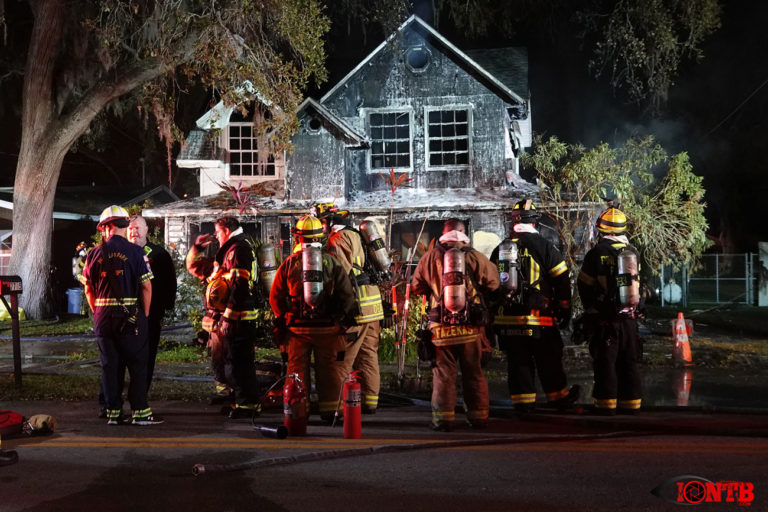 Firefighters respond to house fire in Pinellas Park