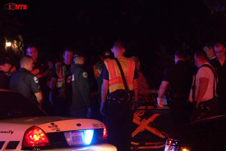 Man in custody after fleeing from traffic crash in Pinellas Park