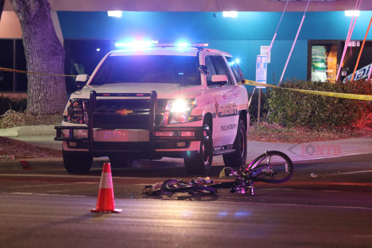 Pinellas Deputy suspended following high speed crash seriously injuring a bicyclist