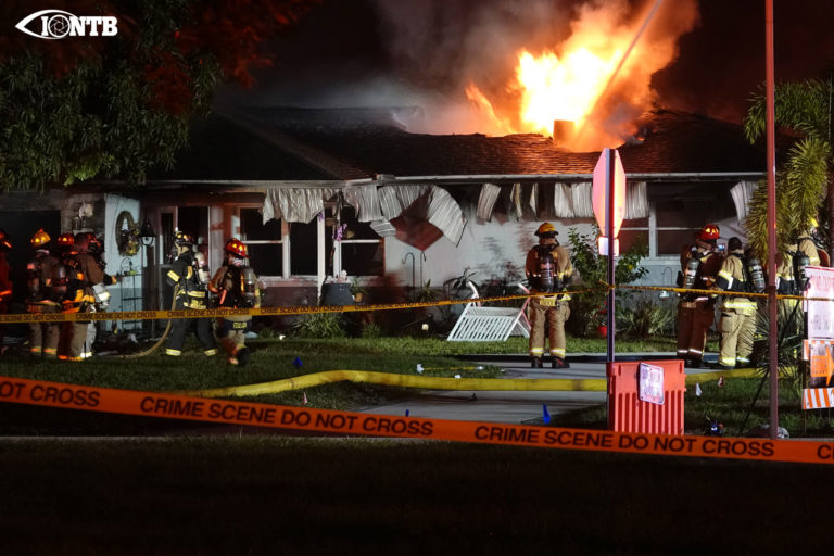 Firefighters battle structure fire at a Seminole home