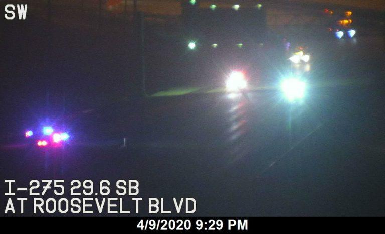 Driver dies in crash on I-275 exit ramp in Pinellas