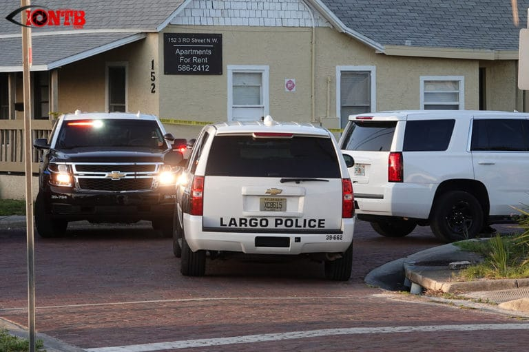 Police conducting murder investigation at a home in Largo