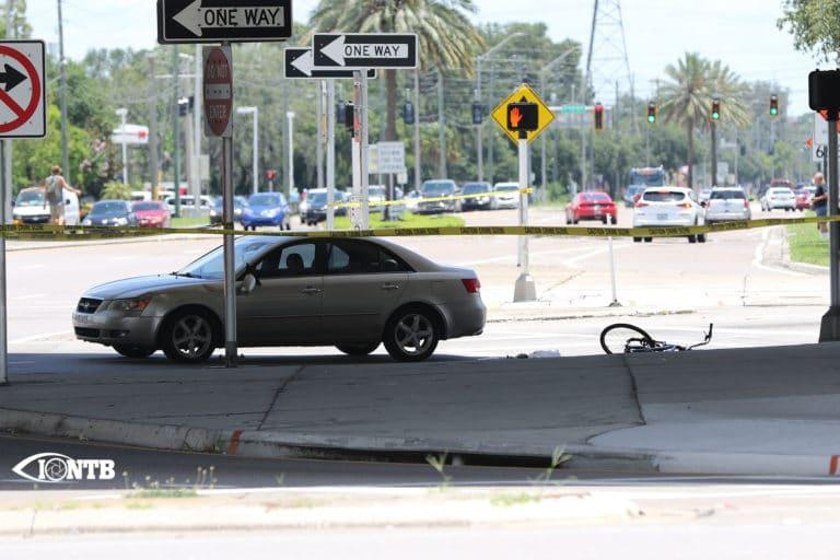 Largo Police investigating serious injury crash involving a bicyclist
