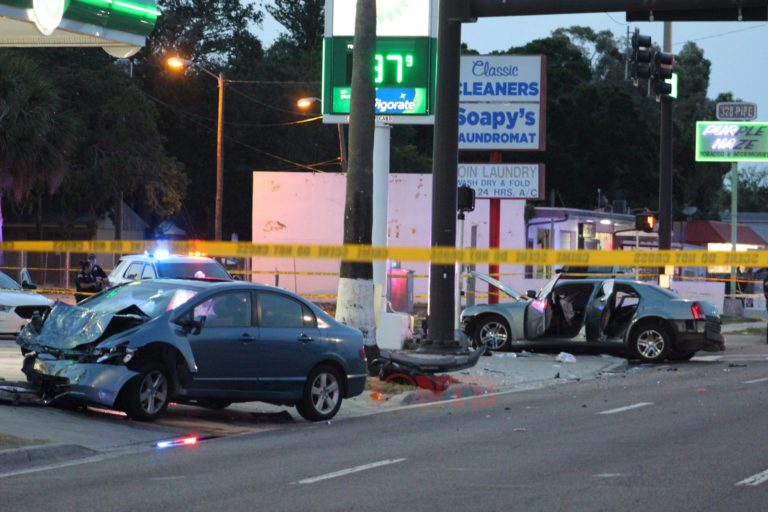 Child dead following St. Petersburg crash that injured three others