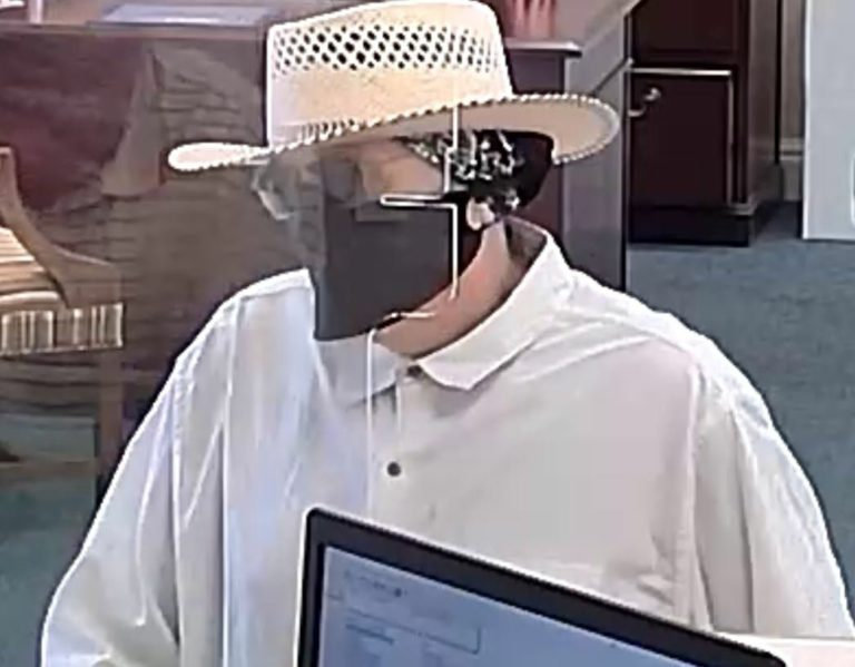 Pinellas deputies searching for man that robbed a Seminole bank