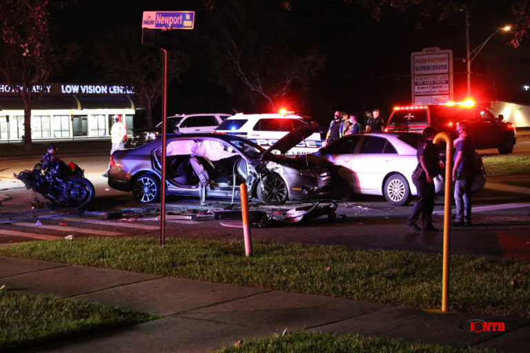 Motorcyclist critically injured in crash on East Bay Drive in Largo