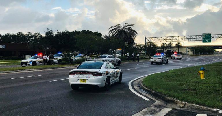 Two Hillsborough deputies responding to pedestrian involved crash run over body in roadway