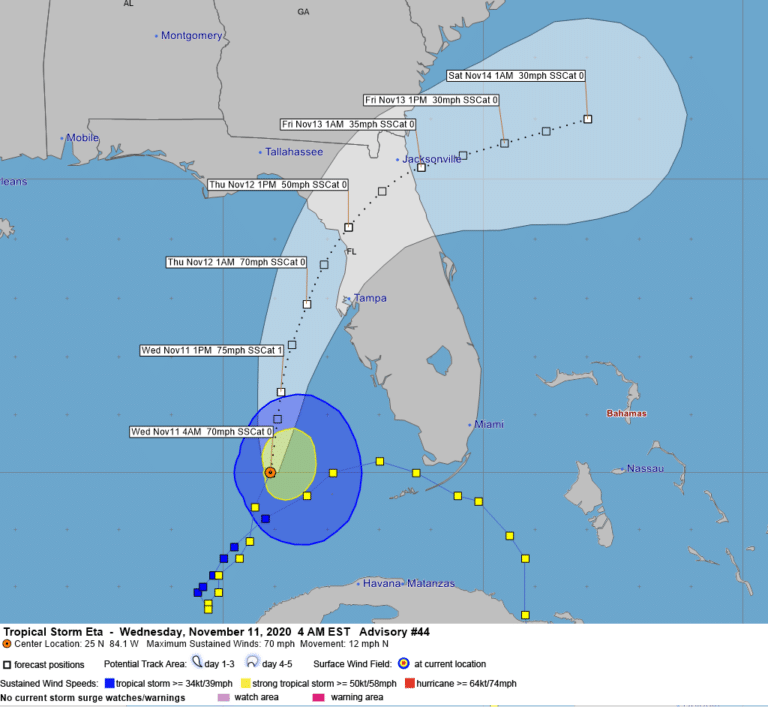 Hurricane Watch issued for coastal counties including Pinellas