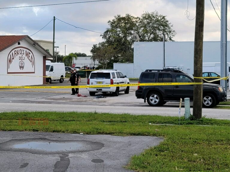 Pedestrian seriously injured in officer involved crash in Pinellas Park
