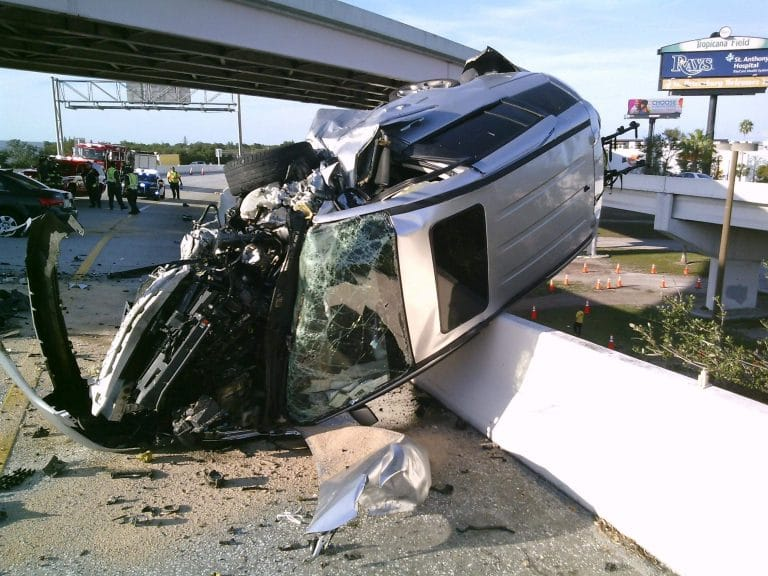 Driver arrested for DUI in hit and run rollover wrong way crash in St. Petersburg