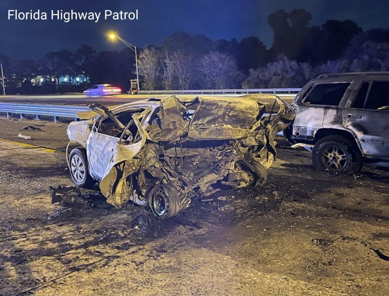 Troopers investigate fiery DUI fatal crash on I-275 at Gandy Boulevard